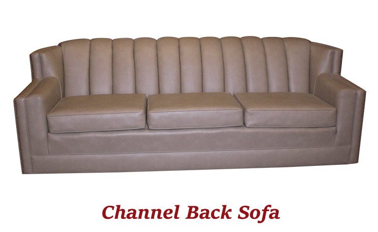 Channel Back Sofa - MBU Furniture Line