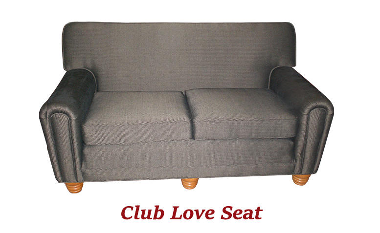 Club Loveseat - MBU Furniture Line
