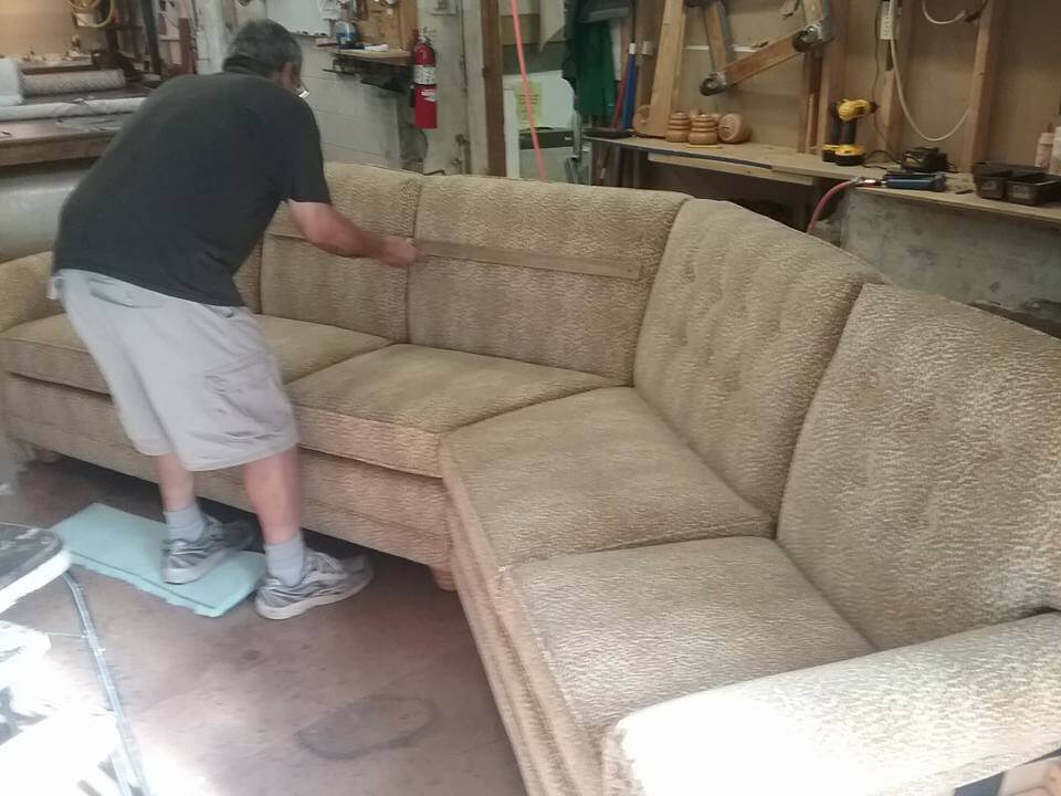 Custom Sofa design with an angle