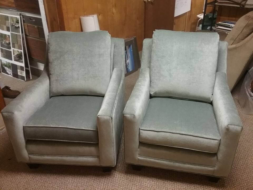 Upholstered chair variety